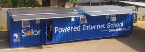solar power provides modern education in africa