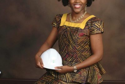 Sandrine Mubenga. Engineer and university professor in Toledo, USA.